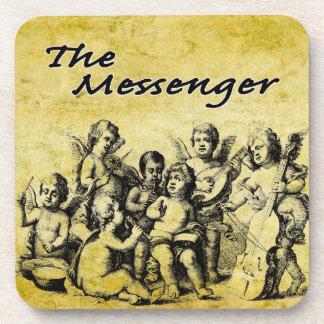 The Messenger Custom Cork Coaster V1