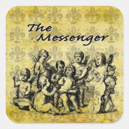 The Messenger Custom Sticker V1