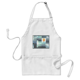 The messenger of autumn by Paul Klee Adult Apron
