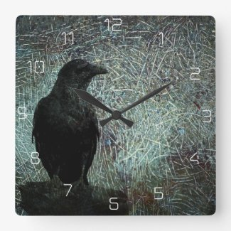 The Messenger Square Wall Clock