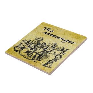 The Messenger V2 Small Square Tile