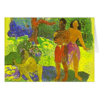'The Messengers of Oro' - Paul Gauguin Card