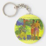 'The Messengers of Oro' - Paul Gauguin Keychain
