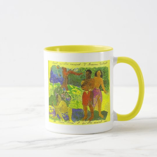 'The Messengers of Oro' - Paul Gauguin Mug
