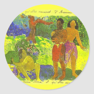 'The Messengers of Oro' - Paul Gauguin Sticker