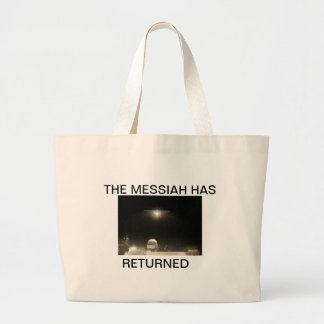THE MESSIAH HAS RETURNED DESIGN 2 SHOPPING BAG
