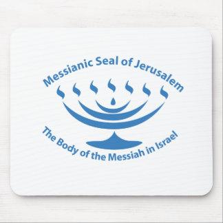 The Messianic Jewish Seal of Jerusalem Mouse Pad