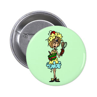 The Messy Cook T-shirts and Gifts Button