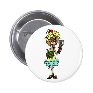 The Messy Cook T-shirts and Gifts 2 Inch Round Button