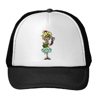 The Messy Cook T-shirts and Gifts Hats