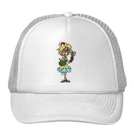 The Messy Cook T-shirts and Gifts Mesh Hats