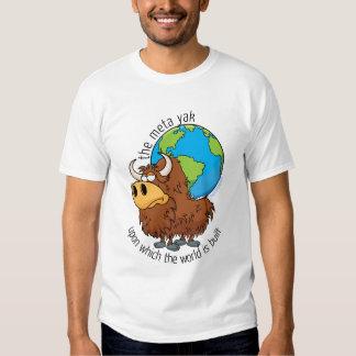 the meta yak — carrying the world t shirt