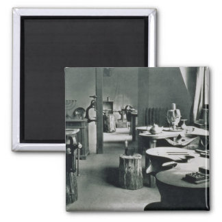 The Metal Workshop, from the Workshops of the Bauh 2 Inch Square Magnet