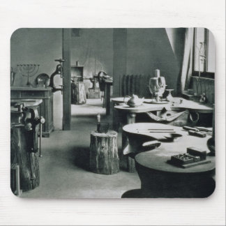 The Metal Workshop, from the Workshops of the Bauh Mouse Pad