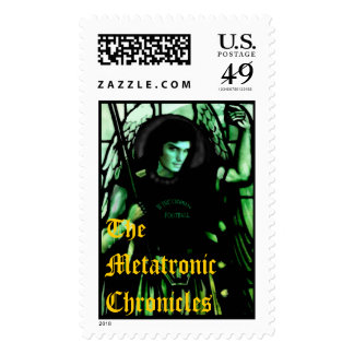 The Metatronic Chronicles Postage Stamps
