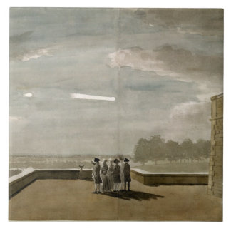 The Meteor of August 18, 1783, as seen from the Ea Tile
