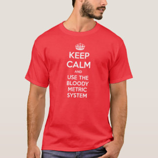 The Metric system T-Shirt