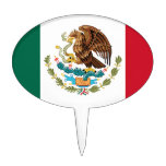 The Mexican national flag - Authentic high quality Cake Topper