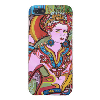 The Mexican Woman Portrait Cover For iPhone SE/5/5s