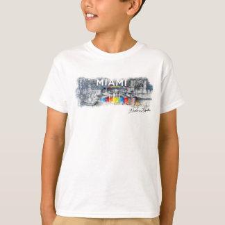 The Miami Line, Rockne Krebs T-Shirt Kids (White)