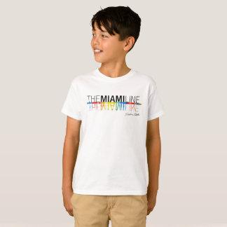 The Miami Line, Rockne Krebs T-Shirt Kids -White