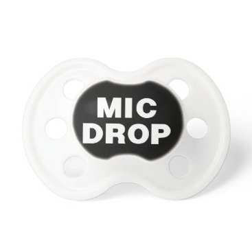 Beach Themed THE MIC DROP from the Remix Encore Mic Drop group Pacifier