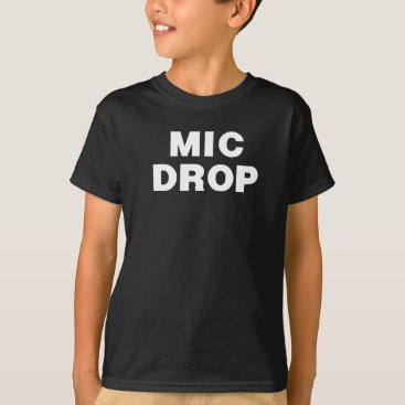 Beach Themed THE MIC DROP Shirt from the Remix Encore Mic Drop