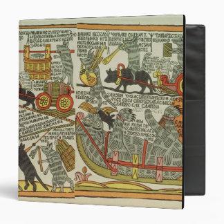 The Mice Bury the Cat, Russian, late 18th century Binder