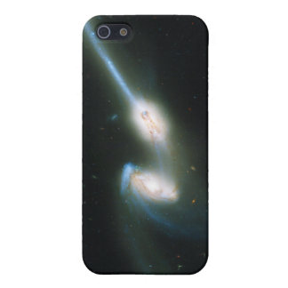 The Mice Galaxies NGC 4676 Colliding and Merging Cover For iPhone SE/5/5s