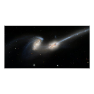 The Mice (NGC 4676) Poster