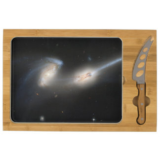 The Mice (NGC 4676) Rectangular Cheese Board
