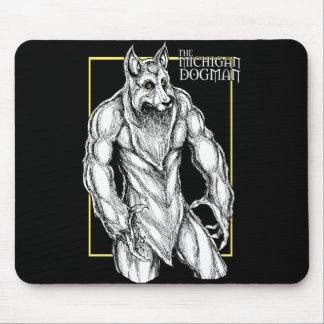 The Michigan Dogman Mouse Pad