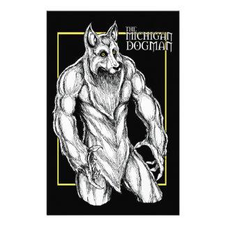 The Michigan Dogman Stationery