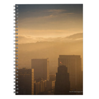 The mid-Market (Civic Center) district of San Spiral Note Book