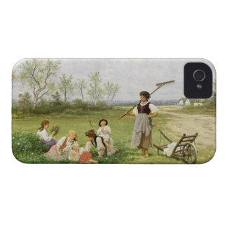 The Midday Rest (oil on panel) Case-Mate iPhone 4 Case