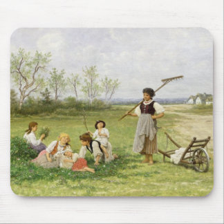 The Midday Rest (oil on panel) Mouse Pad