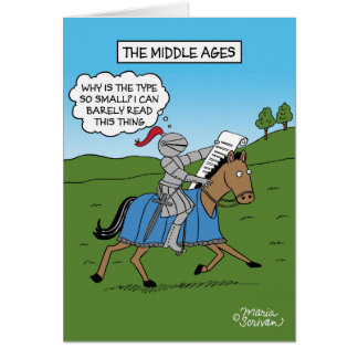 The Middle Ages Greeting Card
