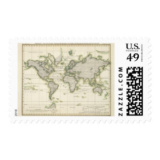 The Middle Barometer Postage Stamp