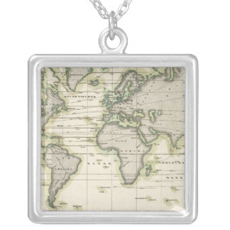 The Middle Barometer Silver Plated Necklace