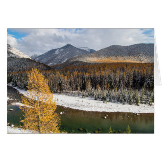 The Middle Fork Of The Flathead River Greeting Card