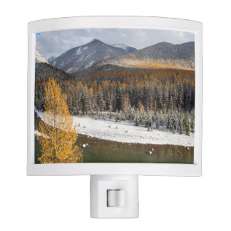 The Middle Fork Of The Flathead River Night Lights