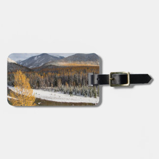 The Middle Fork Of The Flathead River Travel Bag Tag