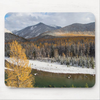 The Middle Fork Of The Flathead River Mouse Pad