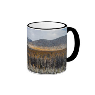 The Middle Fork Of The Flathead River Ringer Coffee Mug