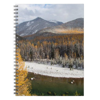 The Middle Fork Of The Flathead River Spiral Note Book