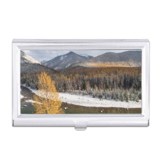 The Middle Fork Of The Flathead River Case For Business Cards
