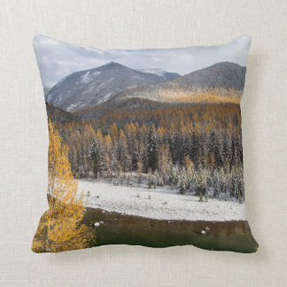 The Middle Fork Of The Flathead River Pillows