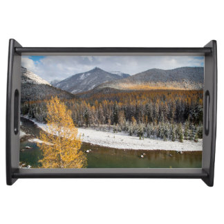 The Middle Fork Of The Flathead River Food Trays