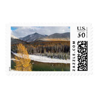 The Middle Fork Of The Flathead River Postage
