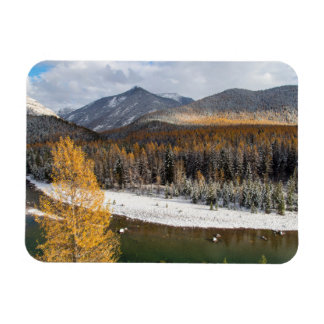 The Middle Fork Of The Flathead River Rectangular Photo Magnet
